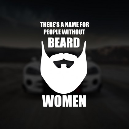 MAN WITHOUT BEARD ARE WOMAN