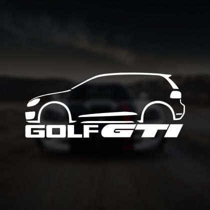 Silueta VW Golf GTI