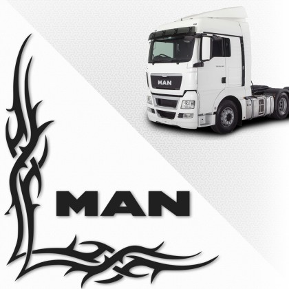 Set sticker camion MAN