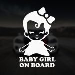 Baby girl on board