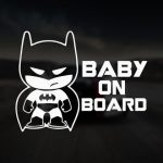 Baby Batman on Board