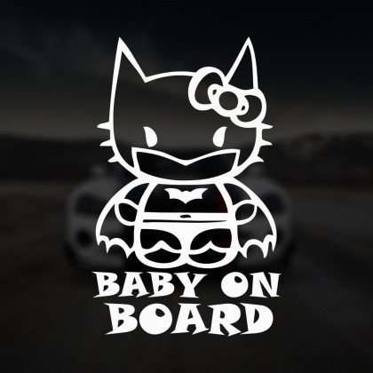 Baby on board Hello Kitty