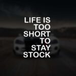 Life is too short stock